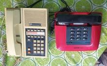 أجهزة هاتف ارضي قديم