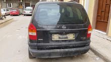 Used condition Opel Zafira 1999 with +200,000 km mileage