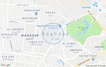 قطعة أرض طابو سكني 47 م  بغداد الجديدة شارع العام