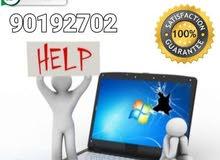 تصليحات الحاسب الآلي Repair and fix problems computer,laptop in your p