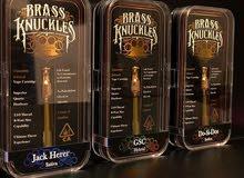 Brass Knuckles THC carts