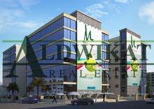 مجمع تجاري للبيع في افضل المناطق الحيوية في ابو نصير , مساحة البناء 1650م  -  مساحة الارض 450م