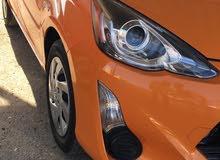 Automatic Orange Toyota 2015 for sale