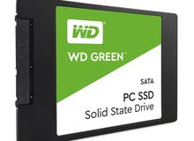 ويسترن ديجيتال إس إس دي 480جيجابايت هارد ديسك  WD Green PC 480GB HD SSD