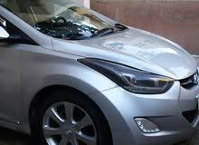 Automatic Hyundai 2012 for rent - Amman