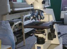 ميكروسكوب سايز الماني مع الكاميرا حاجه راقيه جدا