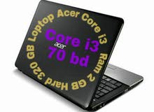 Loptop for sale Acer core i3 good condition