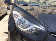 Hyundai Avante 2011 For Rent - Black color