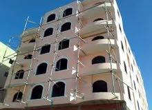 شقة للبيع 75 م بمرسي مطروح بجوار فندق راضى و مصيف البنك المركزى