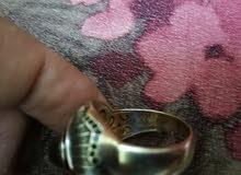 خاتم ذهب وحجر كريم مميز