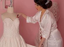 فستان زواج فخم