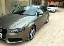 Brown Audi A4 2009 for sale