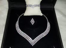 طقم تصميم الماس روعة