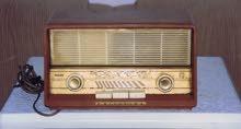 للبيع راديو أصلي قديم جدا . بحالة ممتازة