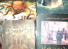 4 كتب مستعملة للبيع