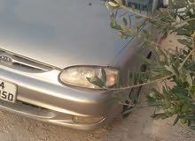 Kia Sephia 1999 For sale - Silver color