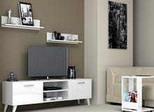 DecoModul Stella 180cm TV Table Unit (Cabinet), Top Trending TV Cabinet Stand Furniture
