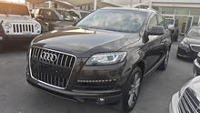 2013 Audi Q7 Full options V6 Gulf specs Special edition