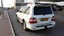 White Toyota Land Cruiser 2001 for sale