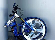 complete aluminium land rover bicycle