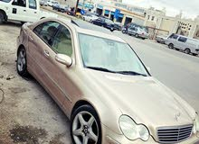 For sale 2001 Gold C 200