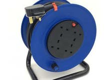 Brand New 4-Port Power Extension Reel with 50m cab