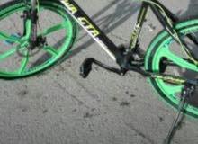 دراجة هوائية النوع هجين