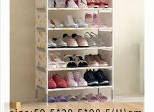 رف تخزين للأحذية متعدد الطبقات ضد الماء متوفر لونين