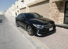 For sale Kia Optima full option  Bahrain Agency  Medel: 2017  Machine size: 2.4