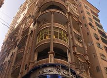 شقه للبيع بالمنصورة شارع احمد ماهر الرءيسى