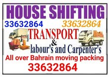 house Villa flat and apartment shifting all over Bahrain