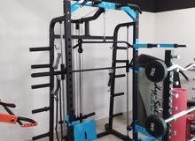 smith machine and home gym