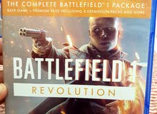Ps4 CD: BattleField 1 Revolution