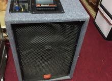 JBL Speaker box and  technics amplifier