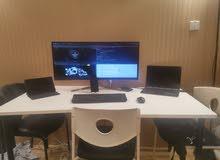 Office Desk + 3 Chairs مكتب مع 3 كراسي