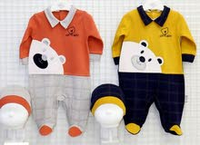 Baby boy Overall&Hat