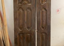 باب شقة خشبي للبيع