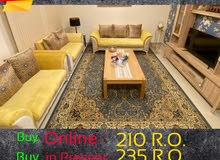 7 Seater Iranian Sofa only 210 R.O.