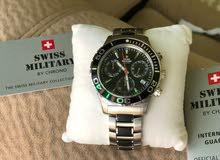 ساعة للبيع  ماركة السويسرية العسكرية جديدة