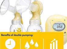 جهاز شفط الحليب الكهربائي ماركة medela, tommee tippee