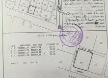 ارض سكنية تجارية في بركاء حي السلام للبيع