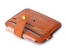 جديد المحفظة الصغيرة جلد حقيقي  New Mini Wallet Genine Leather