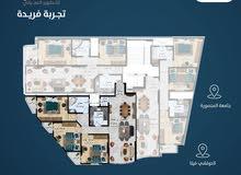 شقه 150 متر تطل مباشرة على الجامعه نصايه 150 متر دور خامس 01097913226 اقاسط وسعر مميز جدا