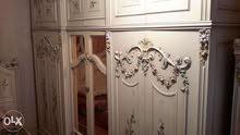 غرفة نوم كاملة 7قطع خشب اصلي