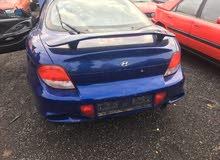 Hyundai Tuscani 2002 For sale - Blue color