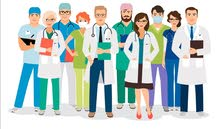 Doctors and all medical professionals availabile