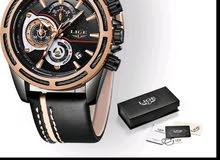 ساعة رجالية ماركة LIGE للبيع