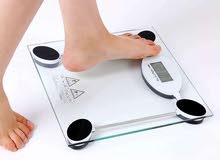 ميزان الجسم الالكتروني / لقياسات الاوزان