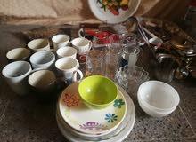 مجموعة ادوات مطبخ نظيفة للبيع