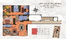 للبيع شقة مساحة 165م بمدينة الشروق  بتسهيلات